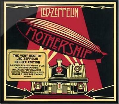 LED ZEPPELIN Mothership Deluxe Edition 2CD/DVD NEW