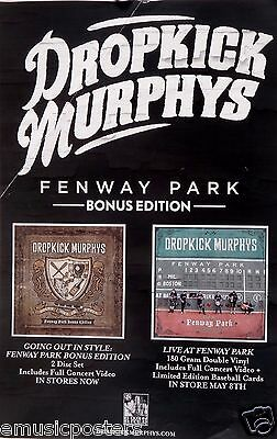 "Dropkick Murphy's ""going Out In Style:live At Fenway Park"" U.s. Promo Poster"
