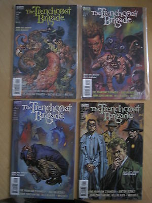 The TRENCHCOAT BRIGADE :COMPLETE 4 ISSUE CONSTANTINE SERIES.PHANTOM STRANGR.1999
