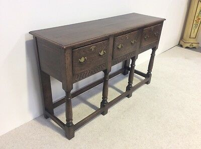 Antique Oak Country Dresser Base Sideboard Superb Quality Must Be Seen