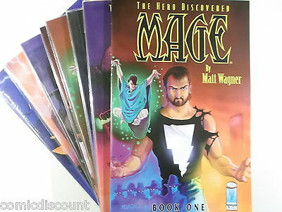 MAGE The Hero Discovered Collection # 1,2,3,4,5,6,7,8 ( US Image, englisch )