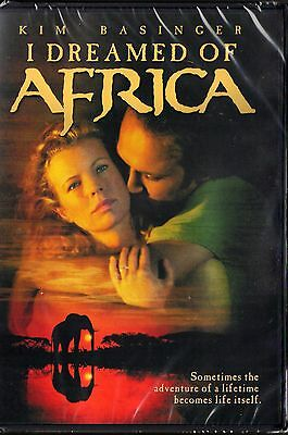 I Dreamed of Africa (DVD,) Kim Basinger, Vincent Perez   BRAND NEW