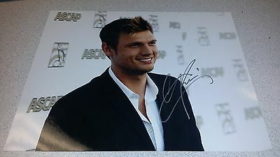 Nick Carter Backstreet Boys Dwts Signed Autographed 8X10 Dancing With The Stars