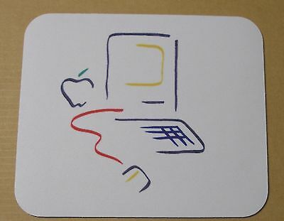 Apple Computer Picasso Macintosh 128 Logo Mouse Pad - L