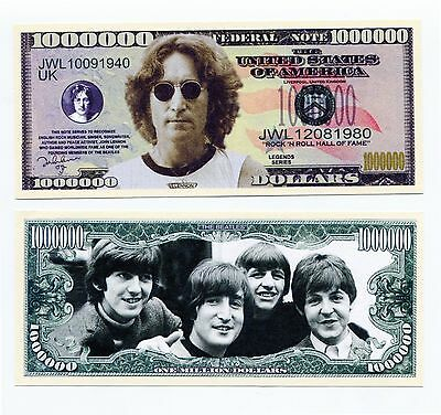 John Lennon The Beatles    MILLION DOLLAR  BILL