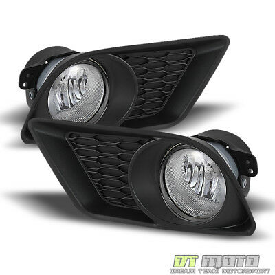2011 2012 2013 2014 Dodge Charger Bumper Fog Lights Lamps w/ Switch Left+Right