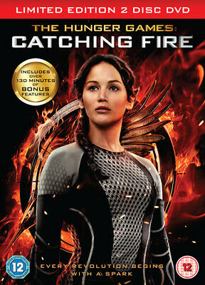 The Hunger Games: Catching Fire DVD (2014) Jennifer Lawrence