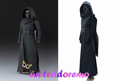 Star Wars The Force Awakens 7 Sith Kylo Ren Standard Cosplay Costume Full Set