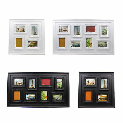 Vintage Photo Frame Chic Decor Home Multi 4x6 Inches Aperture Assorted