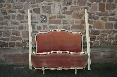 ANTIQUE FRENCH Louis XV CORBEILLE BED • £189.00