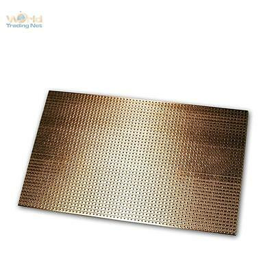 Copper Circuit Board 160x100mm, Stripe Raster RM 2,54mm, Board, Pcb