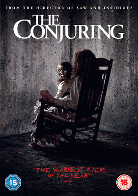 The Conjuring DVD (2013) Patrick Wilson, Wan (DIR) cert 15 Fast and FREE P & P