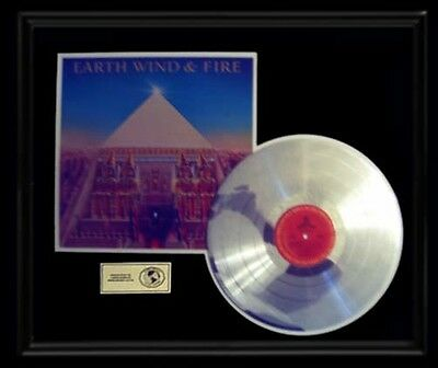Earth Wind And Fire Gold Record Platinum  Disc Lp All N All Album Rare Frame