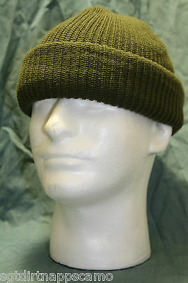 "Canadian Forces Combat Toque/ Watch Cap ""O.D Olive Drab""   Acrylic"