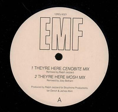 "EMF(12"" Vinyl)They're Here-Parlophone-12RDJ 6321-UK-1992-VG/Ex"