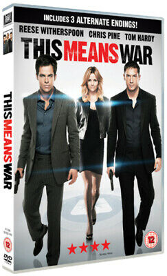 This Means War DVD (2012) Tom Hardy, McG (DIR) cert 12 FREE Shipping, Save £s