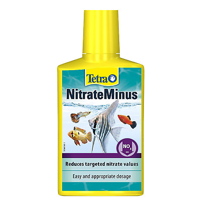 Tetra Aqua Nitrate Minus Marine Aquarium Nitrate Remover Water Treatment Fish