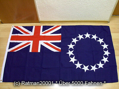 Fahnen Flagge Cookinseln Cook islands - 90 x 150 cm