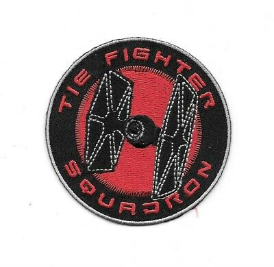 Star Wars Tie Fighter Squadron Logo Embroidered Patch NEW UNUSED