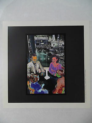 "Led Zeppelin - Presence Deluxe Lithograph Promo Poster* 8"" x 8"""