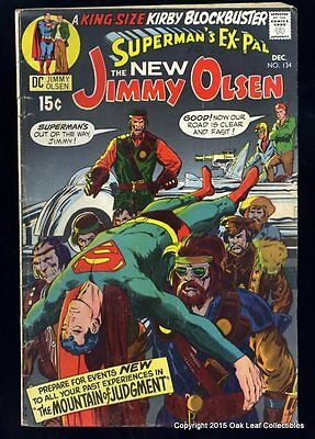 Superman's Pal Jimmy Olsen #134 Key Issue 1st Darkseid VG-Fine