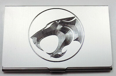 Thundercats Engraved Business Card Wallet Case Holder Patch Gift BUS-0455