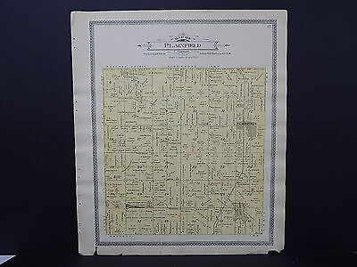 Wisconsin, Waushara County Plat Map, 1906 #07 Plainfield