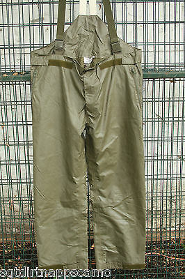German Army Gore tex pants. Olive Drab  Size- large / 32-38 waist