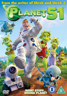 Planet 51 DVD (2010) Jorge Blanco cert U Highly Rated eBay Seller, Great Prices