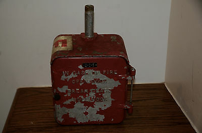 Vintage Acme Fire Box 100-A No.2-2-5 Alarm Box Firefighting Historical Alarm Box