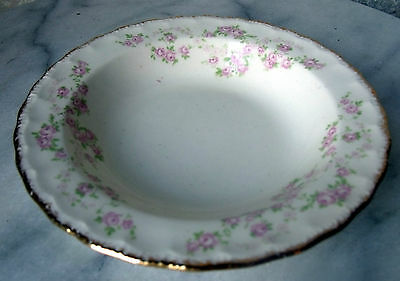 Fruit Dessert Berry Sauce BOWL - FLORENCE by Pope Gosser China, Scalloped Edge