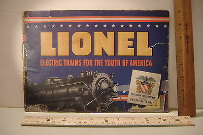 ~Lionel Electric Toy Trains  Catalog~Prices Effective August 1, 1941~