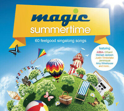 Various Artists : Magic Summertime CD 3 discs (2013) FREE Shipping, Save £s