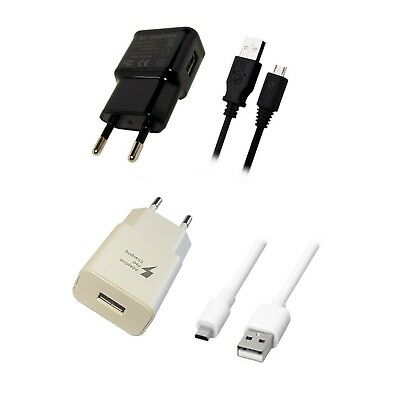 2.1A V8 Sony Xperia EP880 Ladegerät Netzteil Ladekabel Adapter + USB Micro Kabel