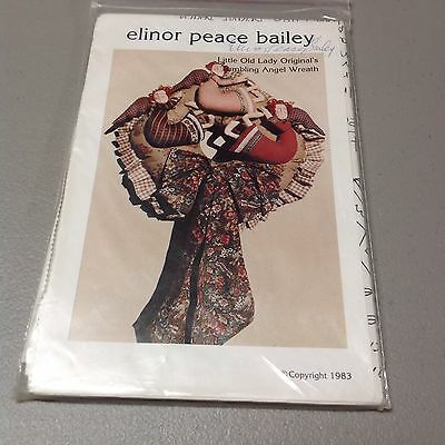 Little Old Lady Original's Tumbling Angel Wreath by Elinor Peace Bailey 1983