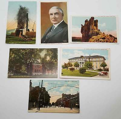 Warren Harding Postcard Collection - Teapot Dome Scandal