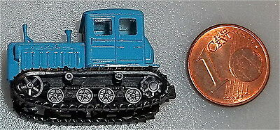 Tracked Tractors Blue with Moving Chains TT 1:120 HM3 Å