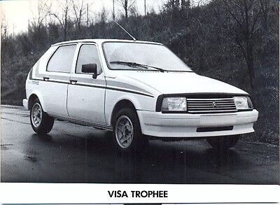 Citroen Visa Trophee - original press photo