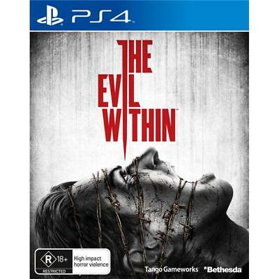 The Evil Within  PS4 Games Sony Playstation 4  New Sealed