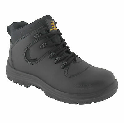 Mens Dickies Fury Leather Safety Trainers Shoes Boots Work Steel Toe Cap Hiker