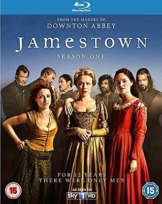 JAMESTOWN Stagione 1 Serie completa BOX 3 BLURAY in Inglese NEW .cp