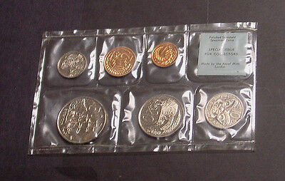New Zealand, 1968 Polished Specimen coin set in pack of issue.