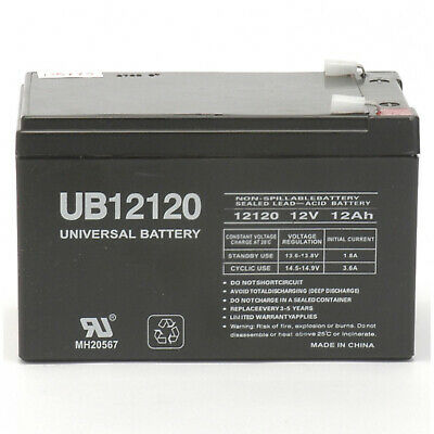 2 Pack AB12180 12V 18AH Replacement for General Power GPS-2K-120-61 UPS Battery