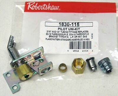 1830-115 Robertshaw Commercial Gas Oven Pilot Bracket #10 for 51-1481