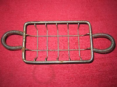 Antique Vintage Wire Soap Basket Dish