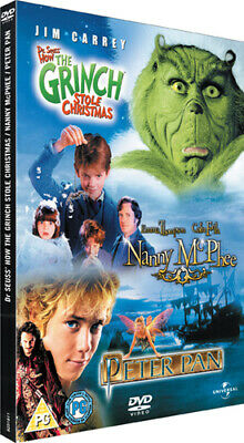 Nanny McPhee/The Grinch/Peter Pan DVD (2007) Jeremy Sumpter
