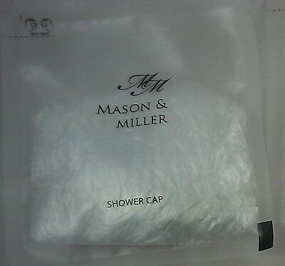 Mason & Miller Emergency Travel Shower Cap - Hotels Guest Houses - Various Qty