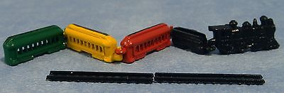 Dollshouse 1/12Th Scale Toy Metal Train Set