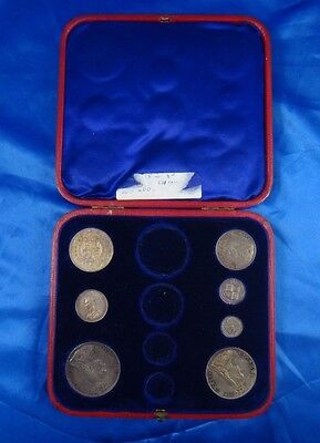 1887 Great Britain 7 Piece Coin Set