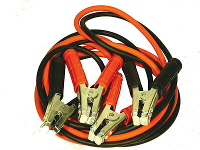 Trade Quality Low Voltage Drop 1200amp 5 Meter Long Jump Leads  Free Post